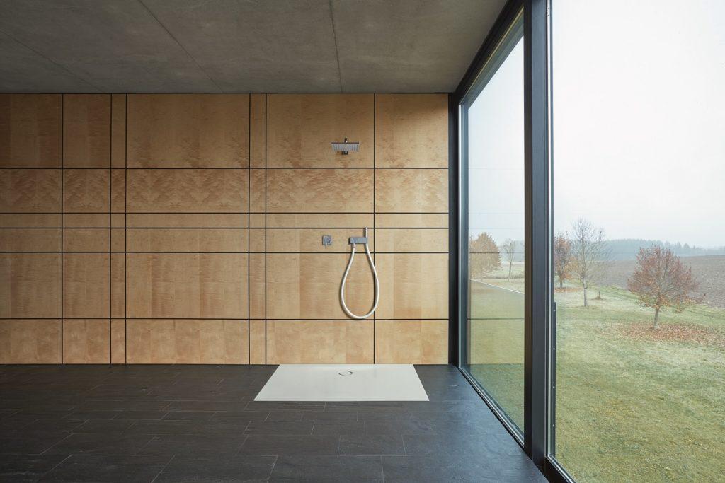 Shower trays Bette glazed titanium-steel shower design