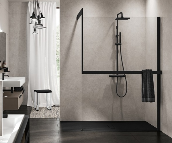 Planet-friendly bathroom design Novellini