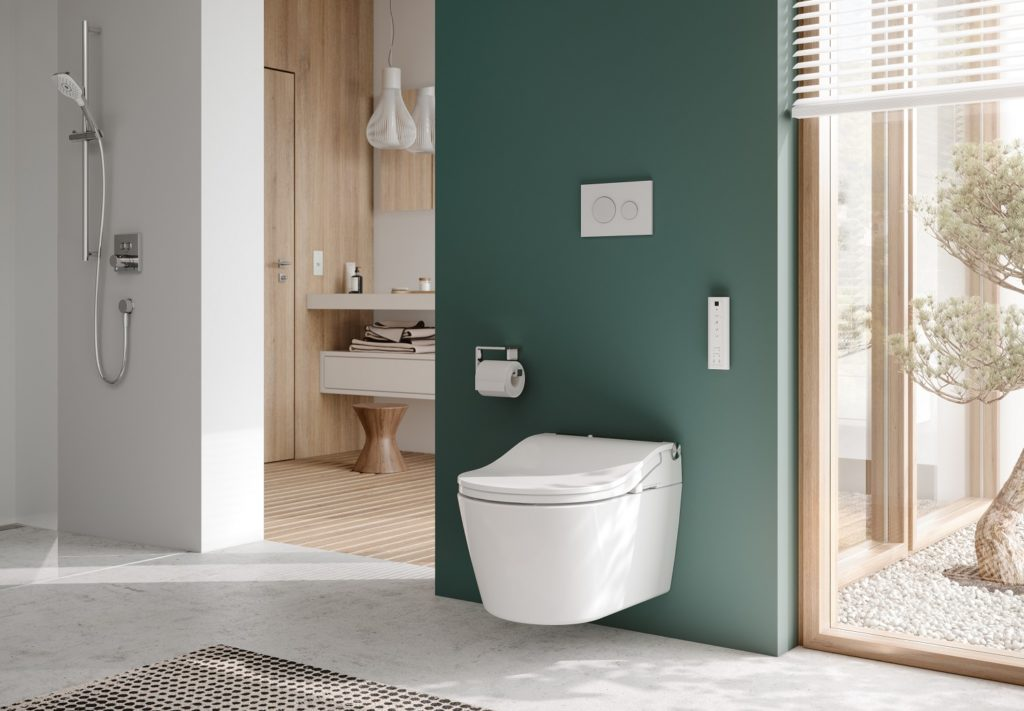 Accessible design Toto RW washlet